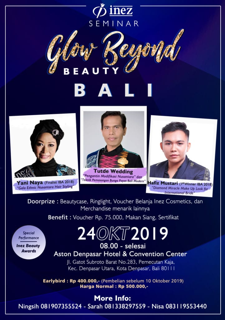 Seminar Glow Beyond Beauty Bali