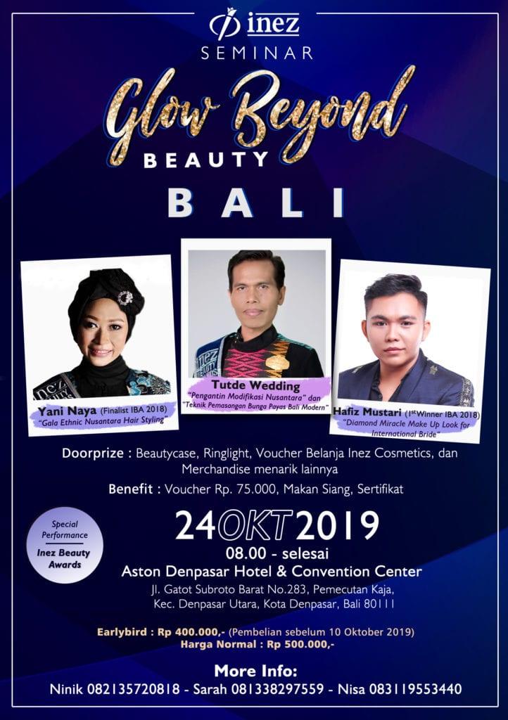 Seminar Glow Beyond Beauty Bali
