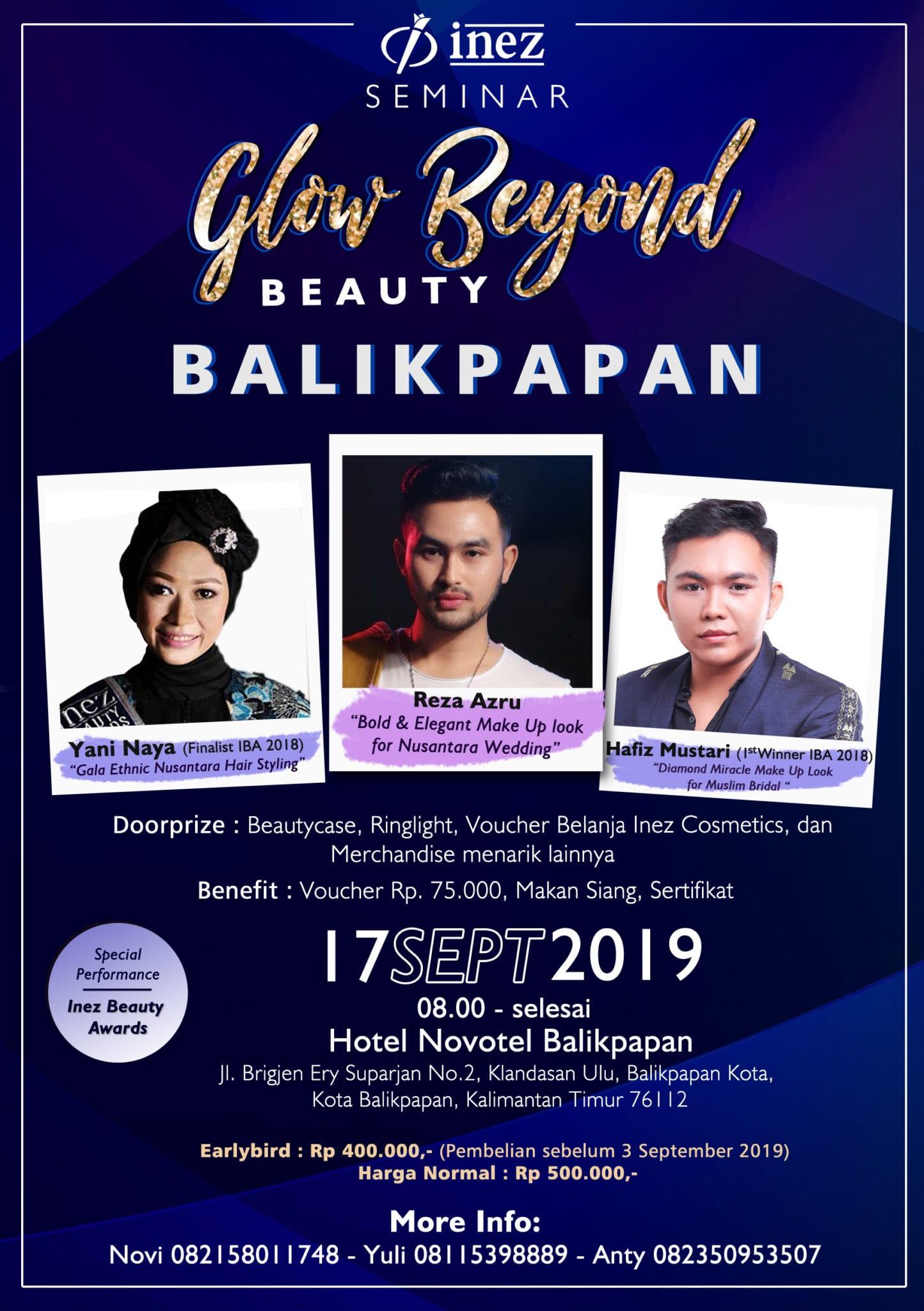 Seminar Glow Beyond Beauty Balikpapan
