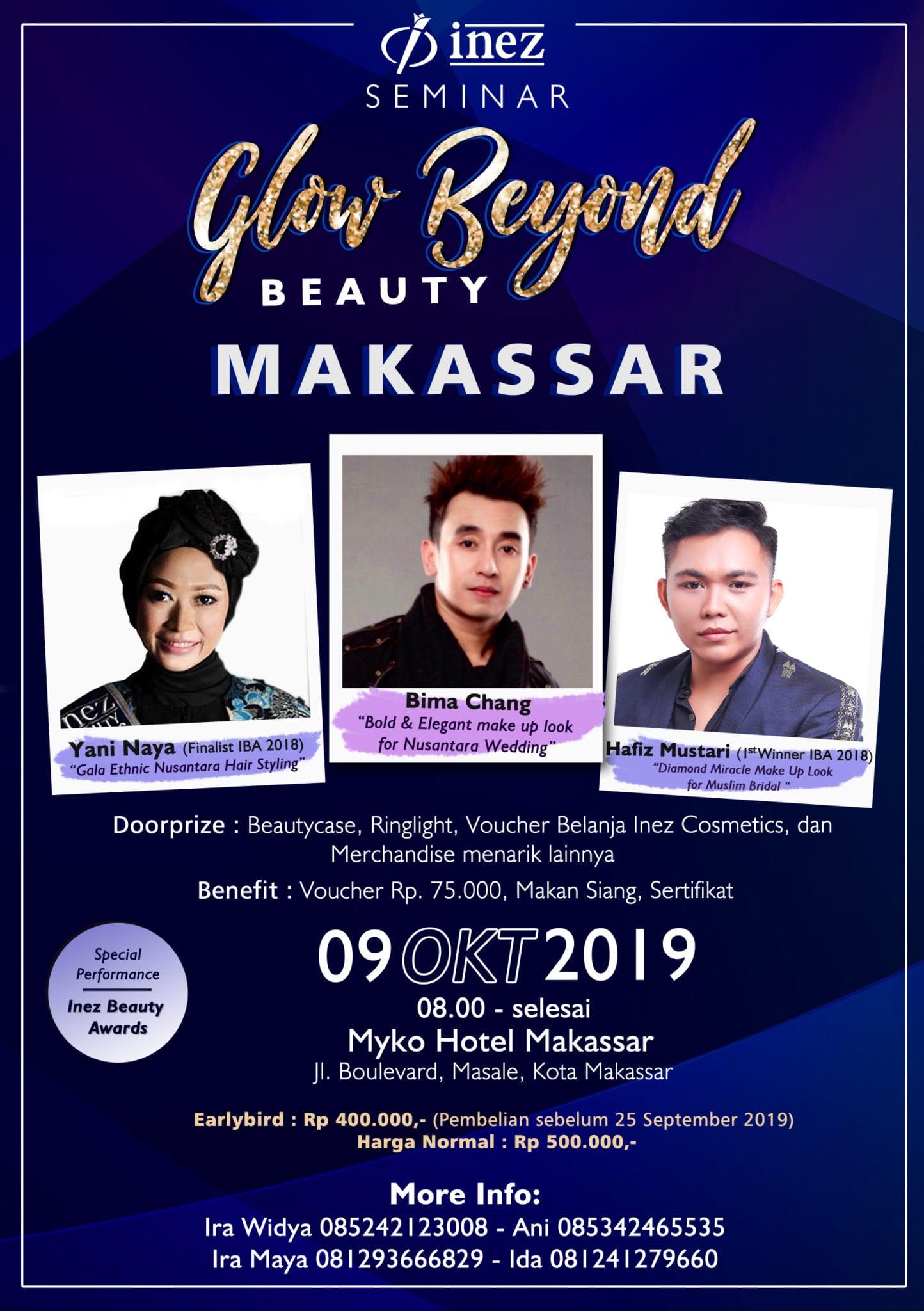 Seminar Glow Beyond Beauty Makassar