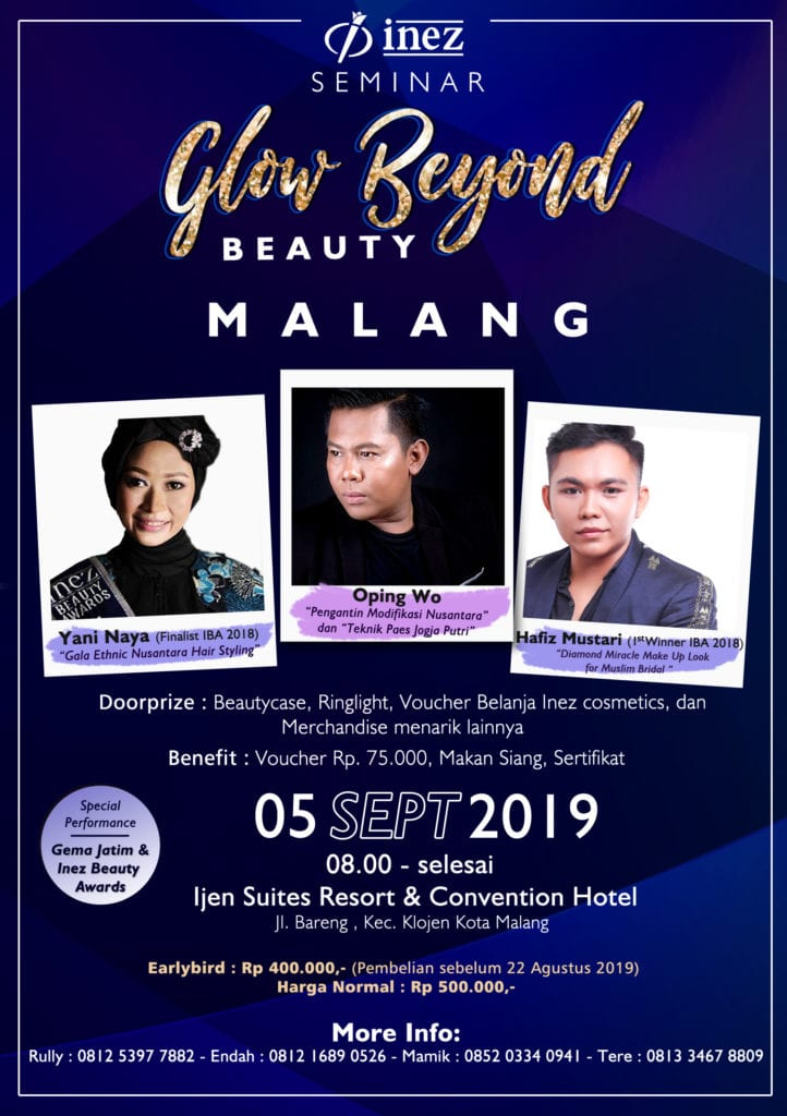 Seminar Glow Beyond Beauty Malang