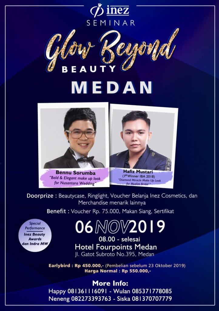 Seminar Glow Beyond Beauty Medan