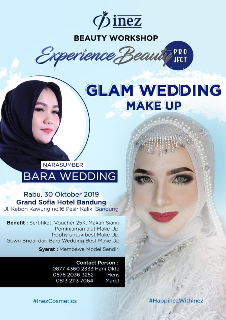 Beauty Workshop – Experience Beauty Project – Glam Wedding Make Up