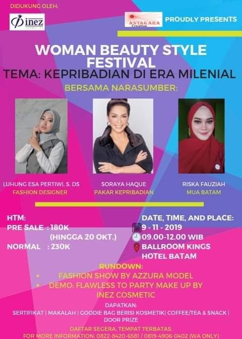Women Beauty Style Festival