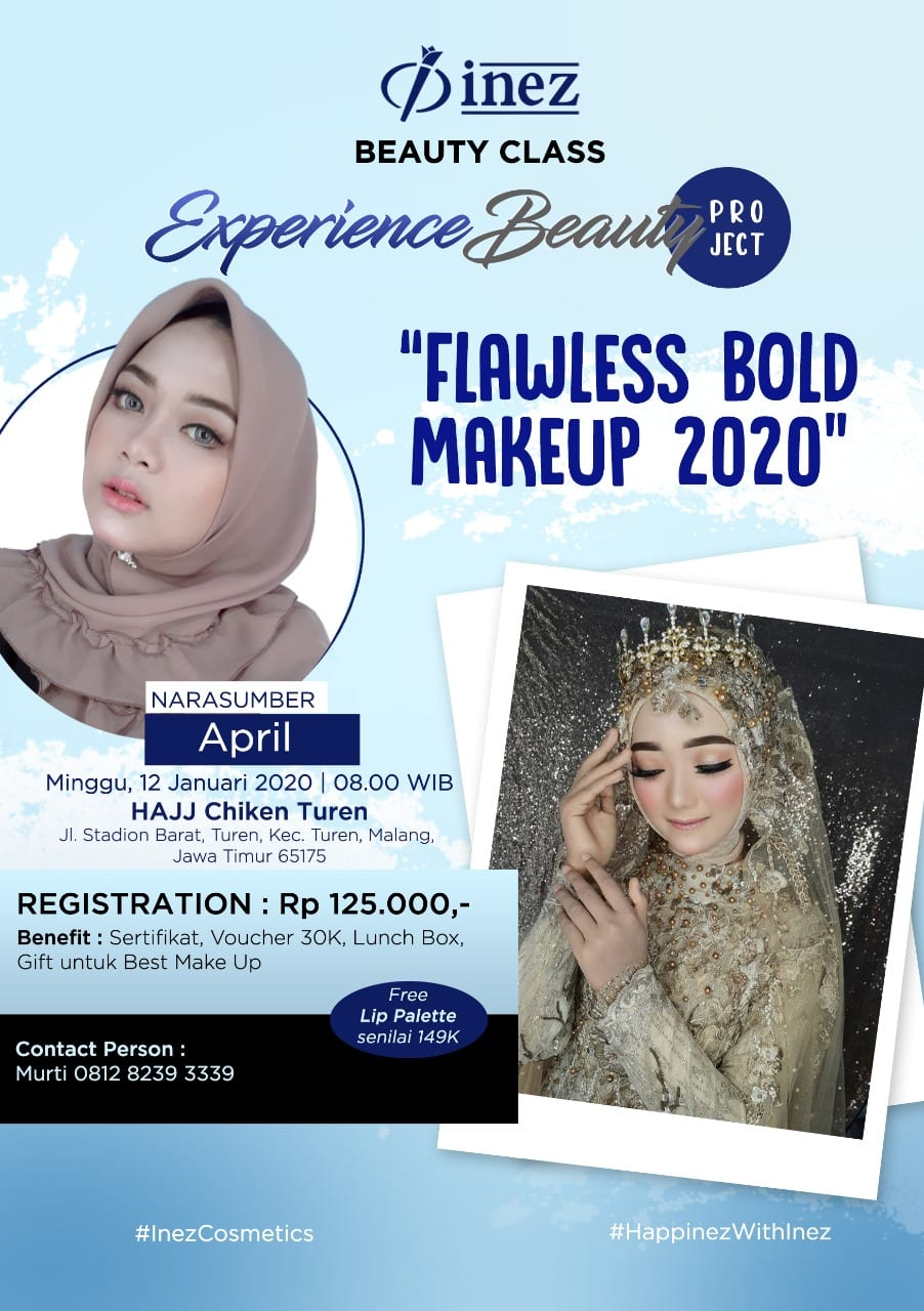Experience Beauty Project – Flawless Bold Make Up 2020 with April