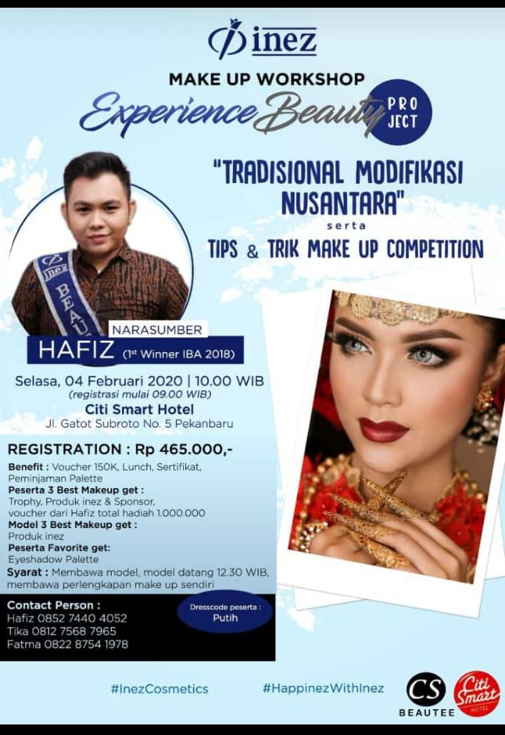 Experience Beauty Project – Tradisional Modifikasi Nusantara with Hafiz