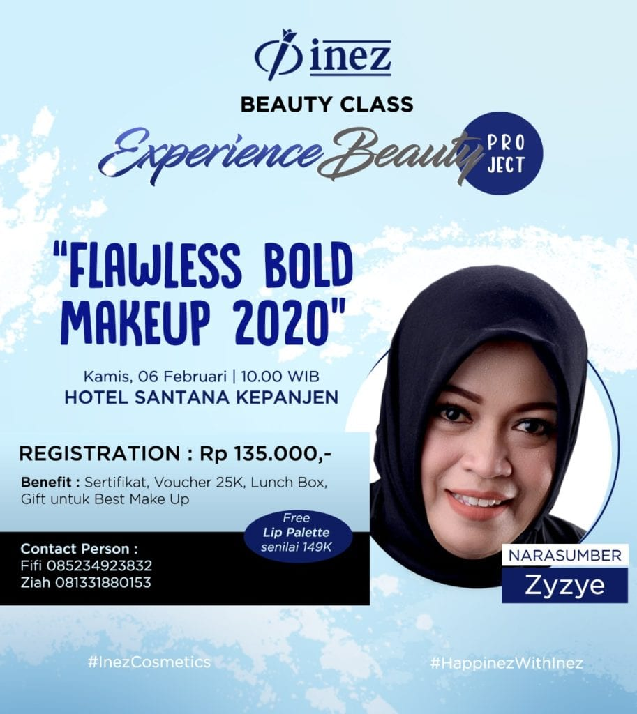 Experience Beauty Project - Flawless Bold Makeup 2020 with Zyzye