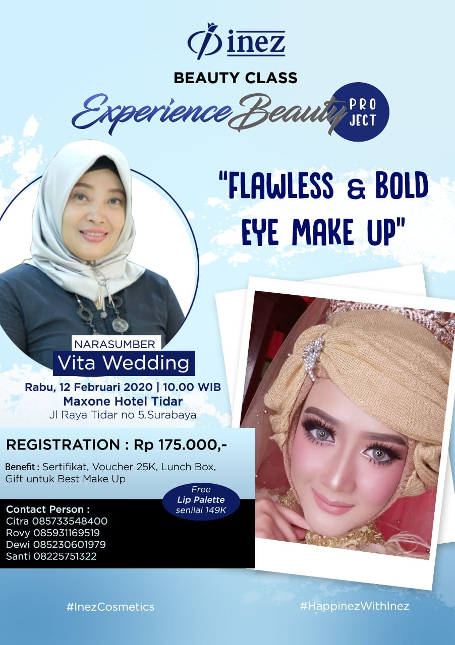 Experience Beauty Project – Flawless & Bold Eye Make Up with Vita Wedding