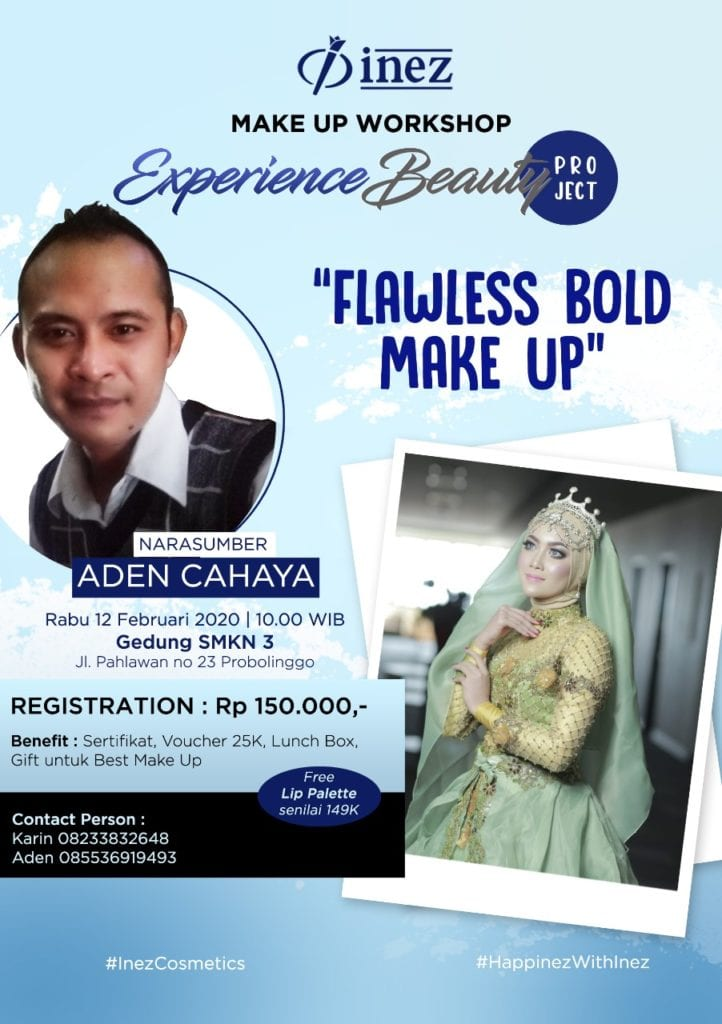 Experience Beauty Project - Flawless Bold Make Up with Aden Cahaya