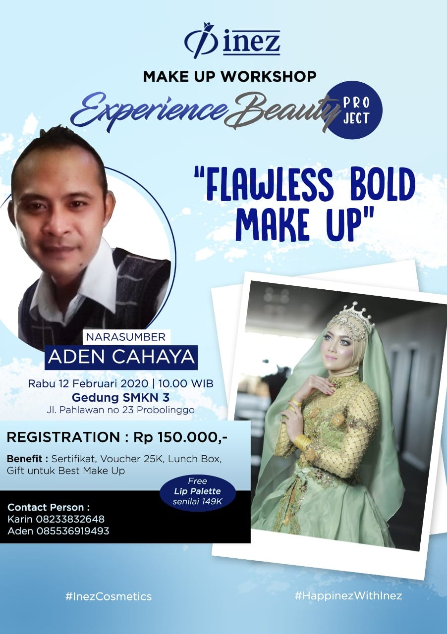 Experience Beauty Project – Flawless Bold Make Up with Aden Cahaya