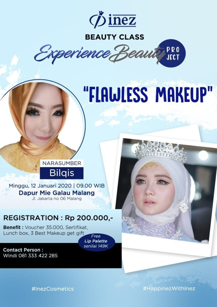 Experience Beauty Project – Flawless Make Up with Bilqis
