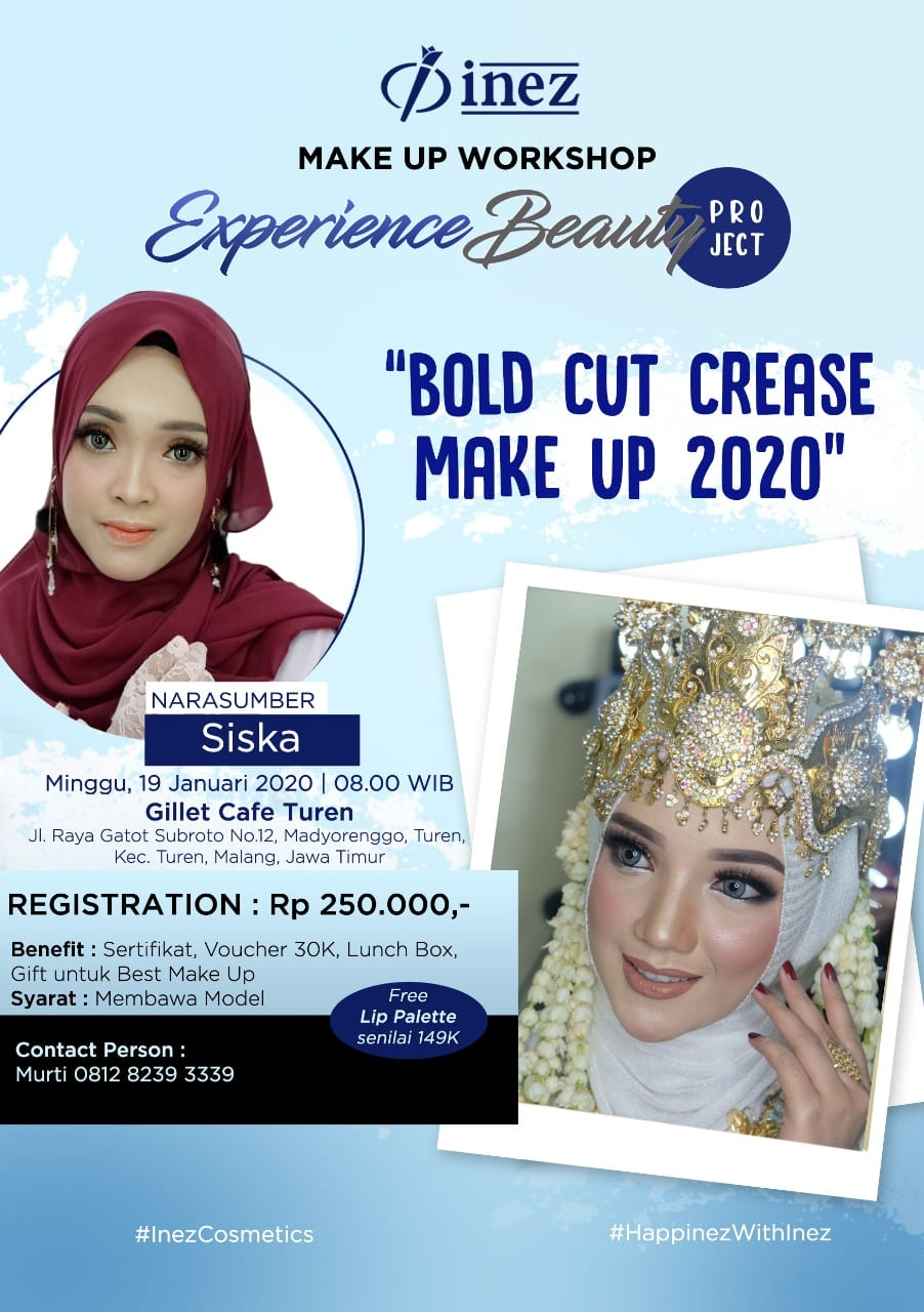 Experience Beauty Project – Bold Cut Crease Make Up 2020 with Siska