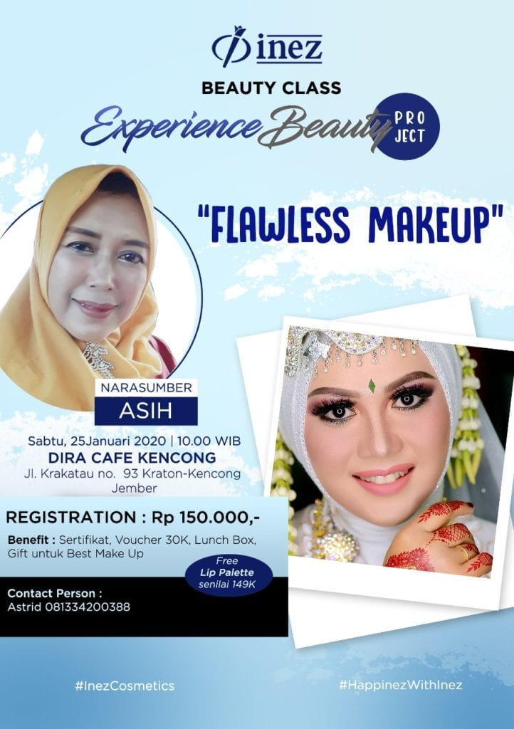 Experience Beauty Project – Flawless Make Up with Asih