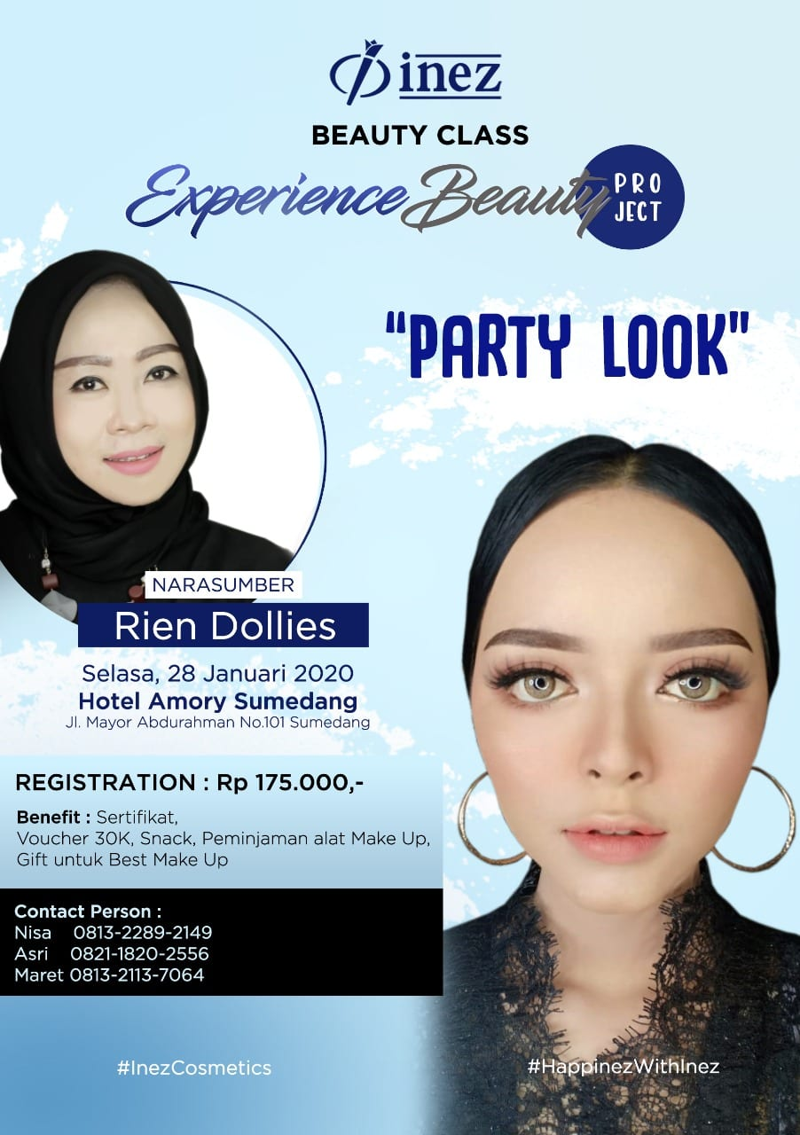 Experience Beauty Project – Party Look with Rien Dollies