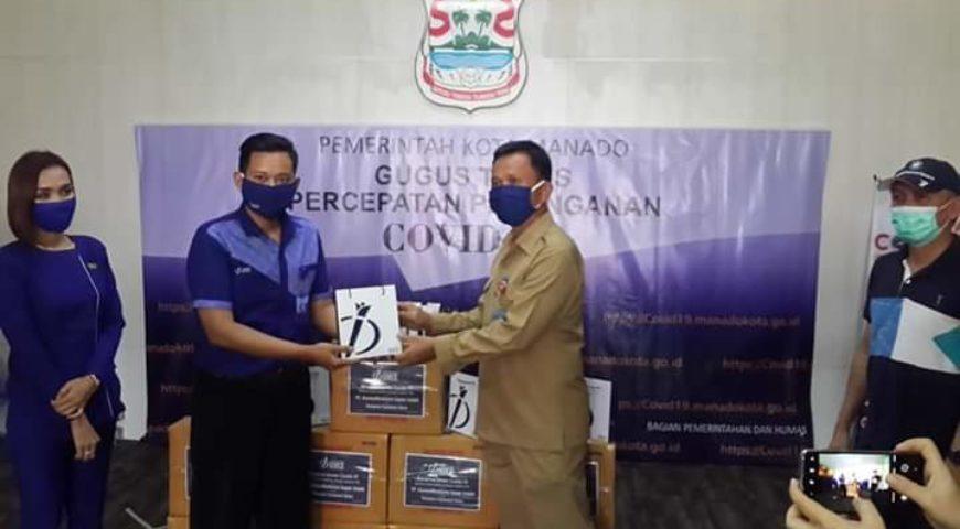 Patut Ditiru Pihak Swasta, Inez Kosmetik Bagikan 1000 Hand Sanitizer Bantu Pemkot Tangkal Corona