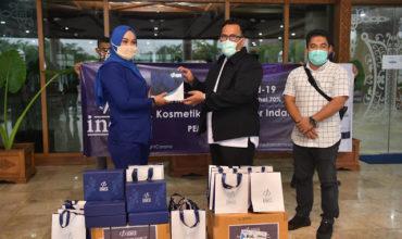 PT. Kosmetikatama Super Indah Bantu 500 Hand Sanitizer untuk Tenaga Medis di Aceh